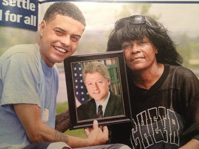 bill clinton love child black