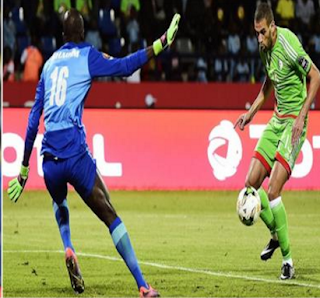 اهداف مباراة الجزائر والسنغال  2-2 كاس امم افريقيا