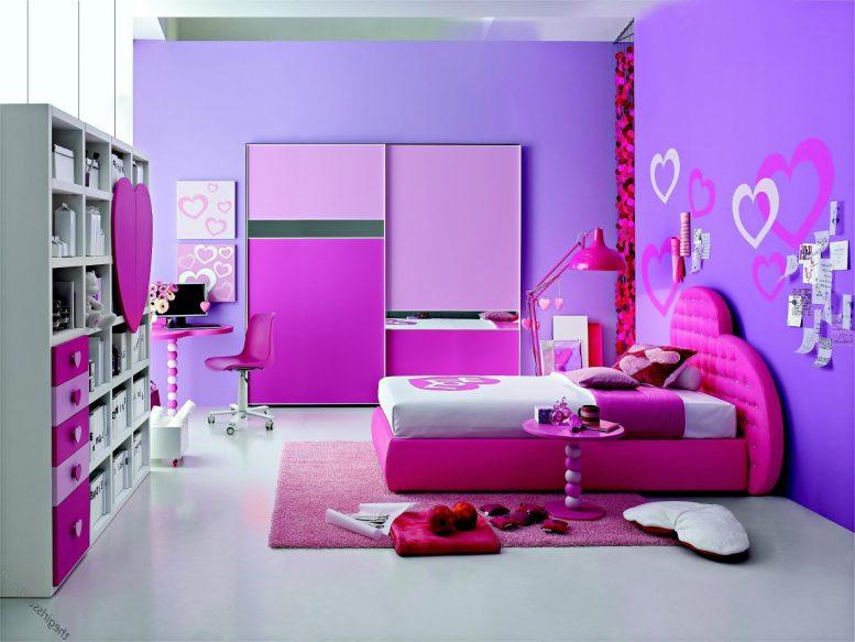 Phòng ngủ màu tím 03