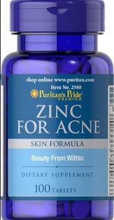 Zinc Dosage For Acne