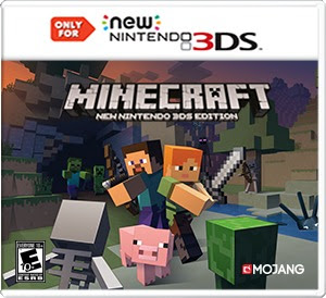 Download Minecraft New Nintendo 3DS Edition ROM Cia
