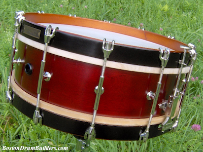 Charles A. Stromberg Orchestra Drum - After Full Restoration