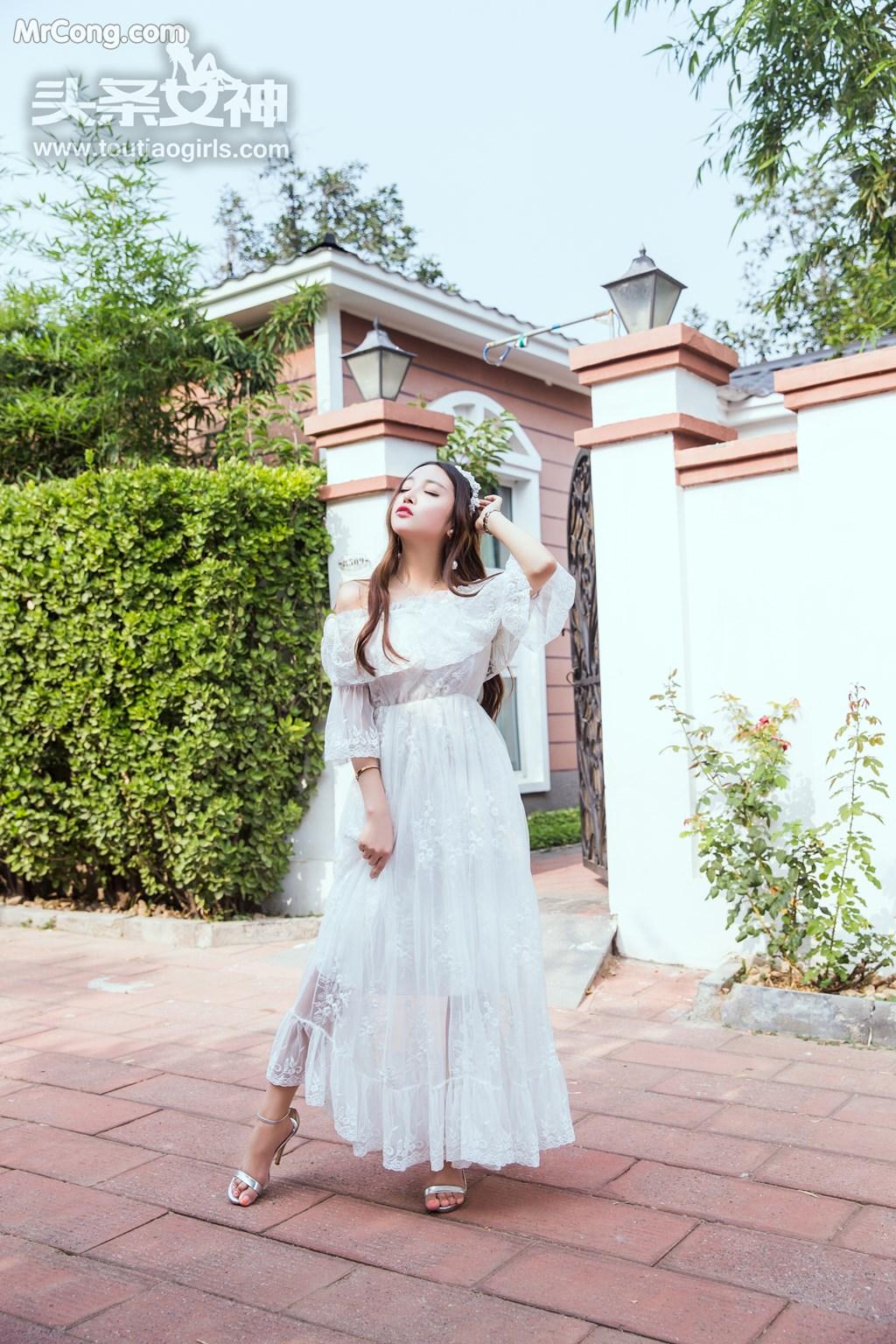 Image TouTiao-2017-08-06-Li-Zi-Xi-MrCong.com-002 in post TouTiao 2017-08-06: Người mẫu Li Zi Xi (李梓熙) (37 ảnh)