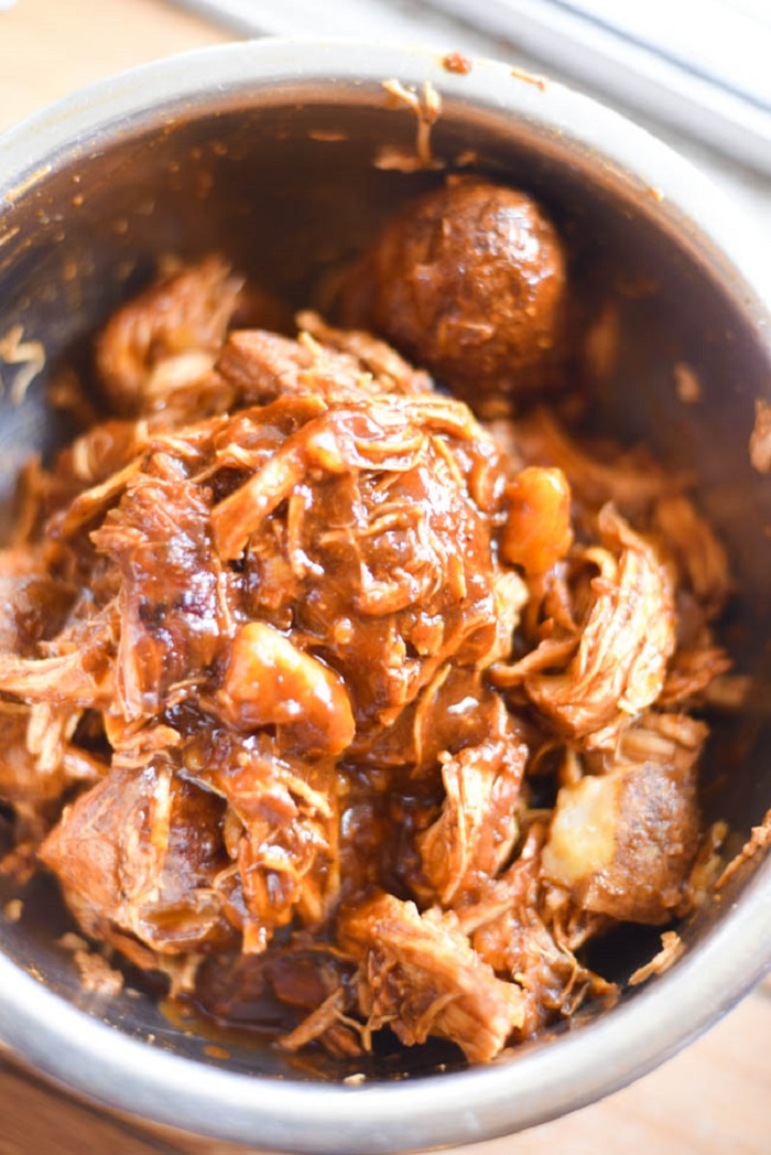 Instant Pot Barbecue Chicken & Potatoes