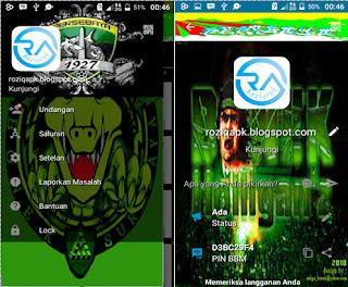 BBM Mod Persebaya Unclone Full Dp Terbaru 2016