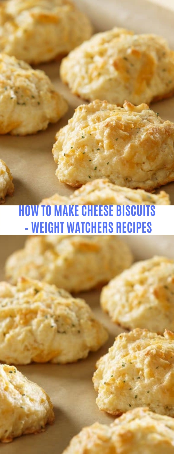 HOW TO MAKE CHEESE BISCUITS – WEIGHT WATCHERS RECIPES