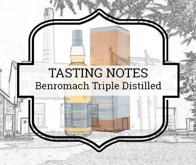 A Tasty Dram tasting notes Benromach Triple Distilled