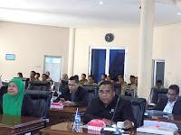 Walikota dan Fraksi Dewan Setuju Raperda Tentang Hak Keuangan dan Adiministrasi Pimpinan dan Anggota DPRD Dibahas Pansus
