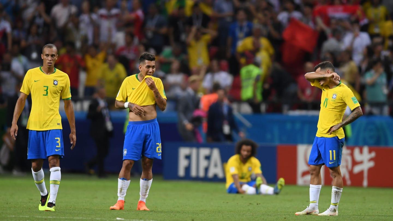 Bélgica 2 x 1 Brasil