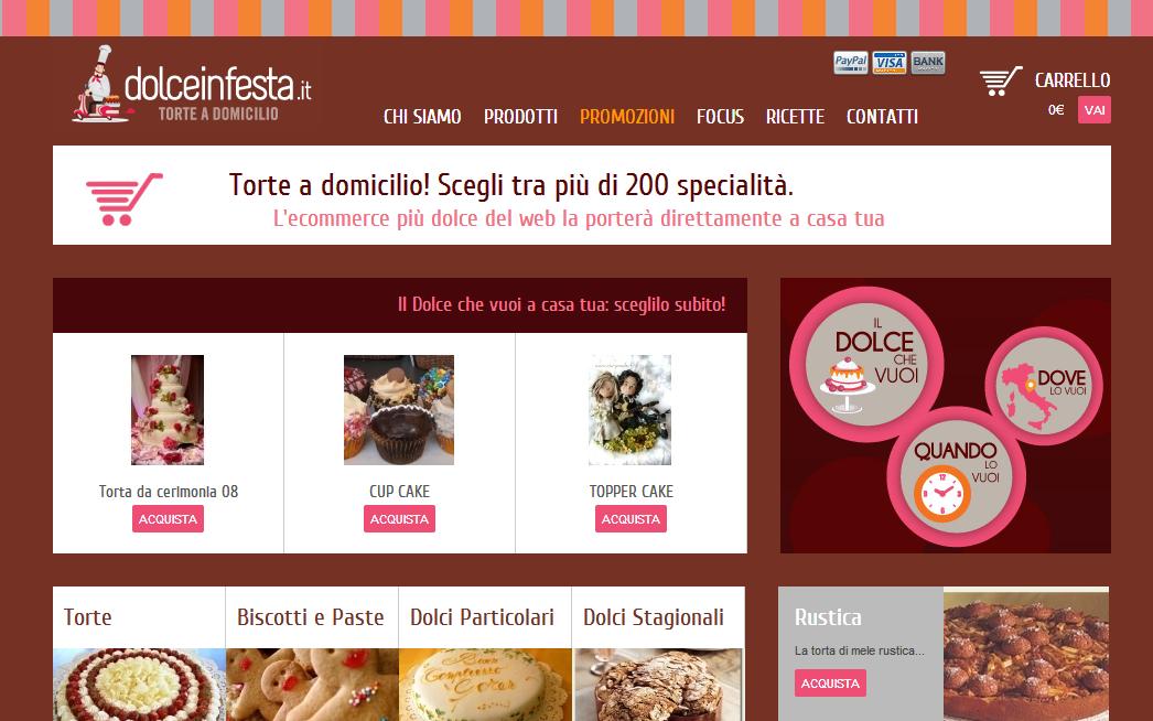 Come ordinare una torta online con la consegna a domicilio for Ordinare libri on line