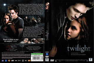 La jaquette du film Twilight chapitre 1 : Fascination