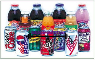 Soft drinks. Make it a point to have a can of pop (even diet) or two everyday or at least couple of times a week