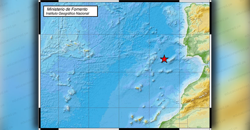 Fuerte Sismo en Portugal y España de Magnitud 4.0 (Hoy Lunes 24 Diciembre 2018) Temblor Epicentro Azores - Cabo de San Vicente - IGN - www.ign.es