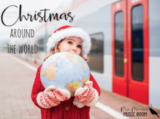 "Christmas around the world:  One of many revised products in Aileen Miracle's store! If you've already purchased, go to ""my purchases"" and re-download!"