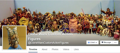 CLONE WARS CUSTOM ACTION FIGURES