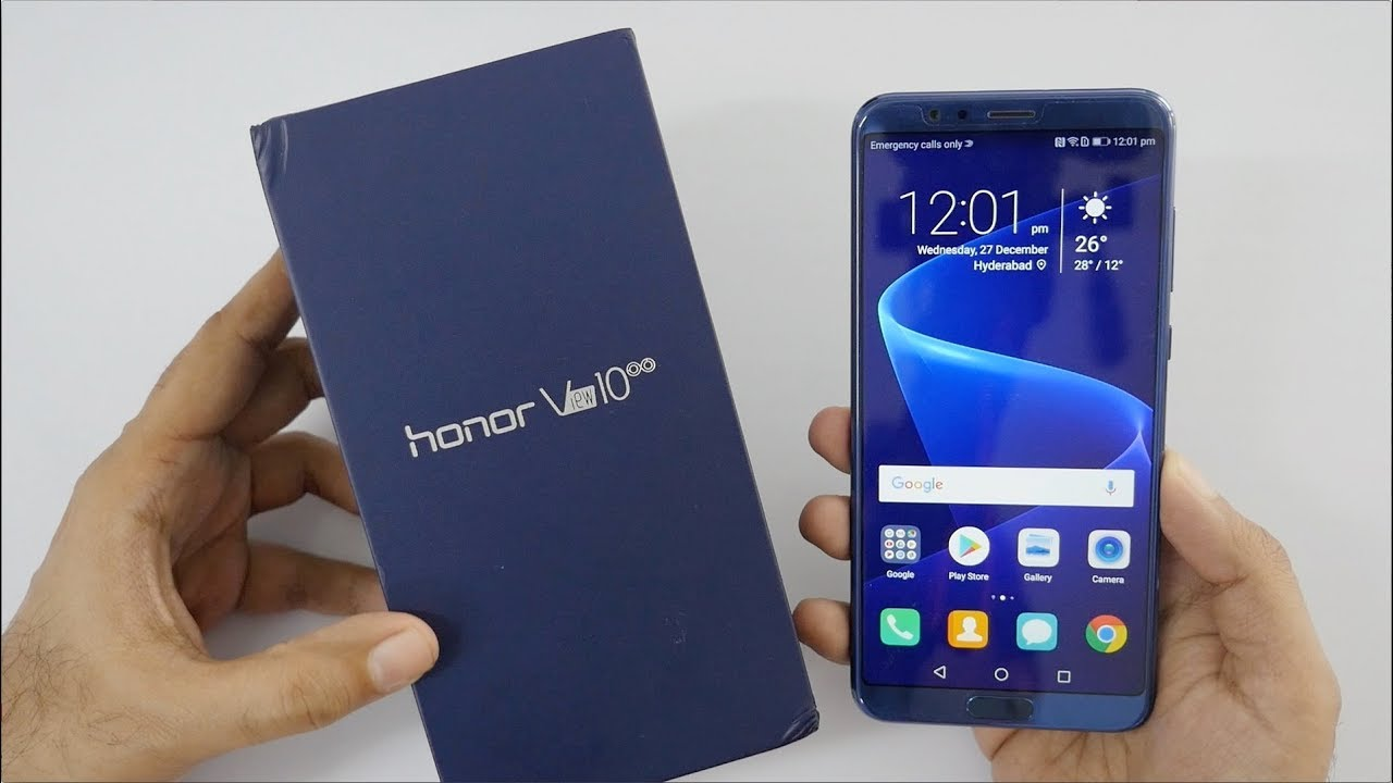 Respect 10, Honor Play, Honor View 10, Receiving Android Pie