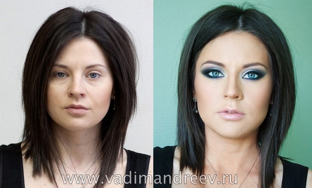 before and after makeup photos 2
