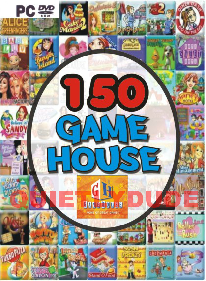 150 Gamehouse Game Pack Game House Super Games Aio