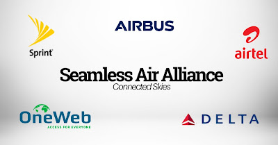 Seamless Air Alliance by Airbus Sprint Airtel Delta and One Web