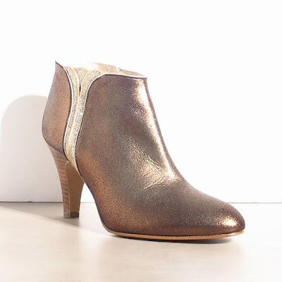 Boots bronze Patricia Blanchet