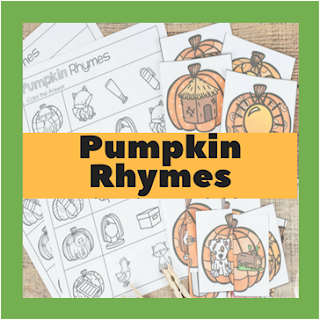 pumpkin rhymes activities