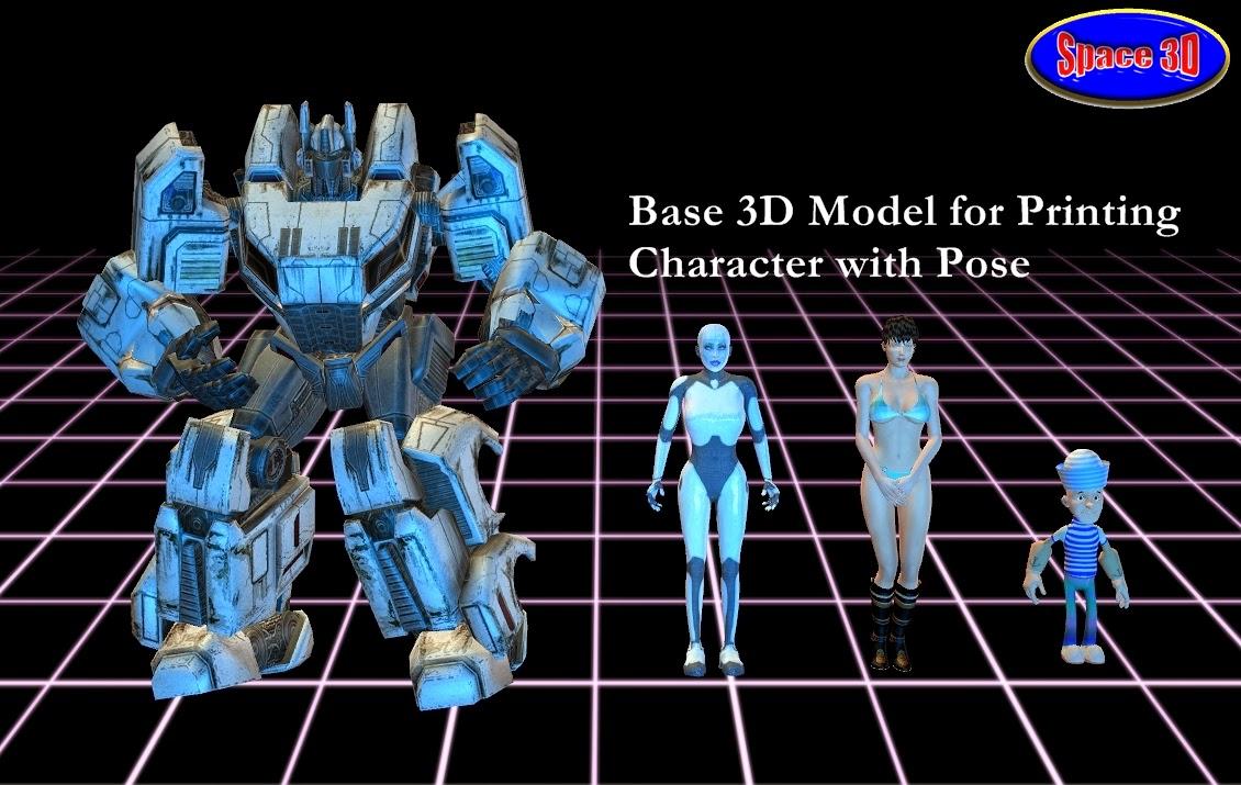 Development Services 3D Character Model Miniature Animals