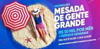 Promoção Mesada de Gente Grande Bradesco banco.bradesco/promocaodebito