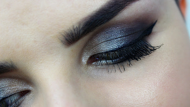 Makijaż dla brunetki, czyli Smokey Eye wykonany na Asi;)
