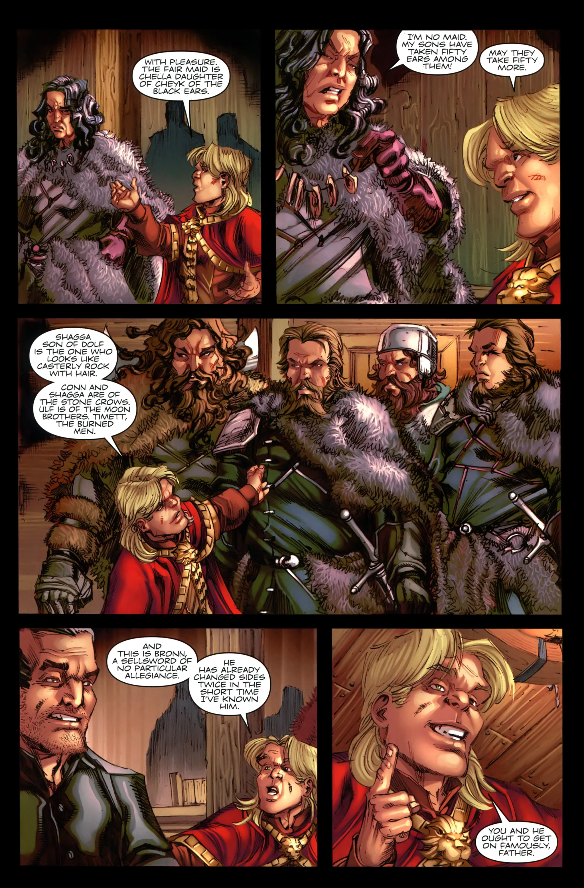 Read online A Game Of Thrones comic -  Issue #19 - 13