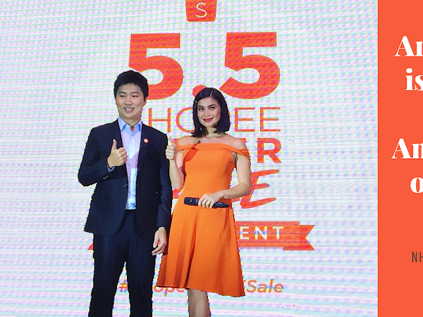 ANNE CURTIS IS THE FIRST BRAND AMBASSADOR OF SHOPEE PH!