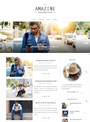 Amazine Blogger Responsive List Style Image