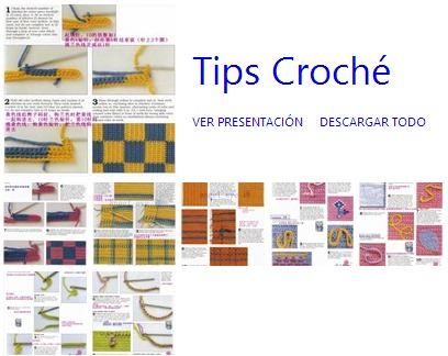 trucos crochet, tips ganchillo, patrones para crochet