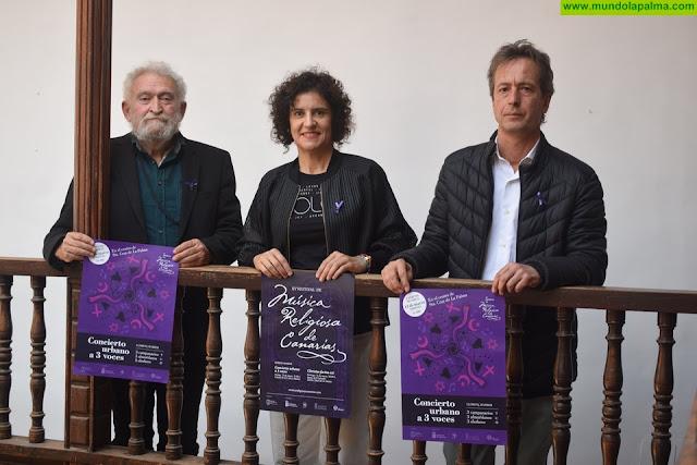 El Festival de Música Religiosa presenta el estreno mundial 'Concierto Urbano a tres voces' en La Palma