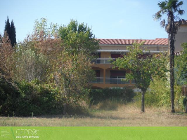Vue des nouveaux locaux du CFPPA site de Massia Limoux