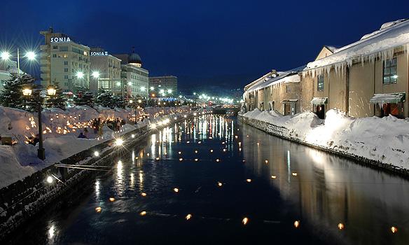 Otaru Snow Light Path Festival, Hokkaido