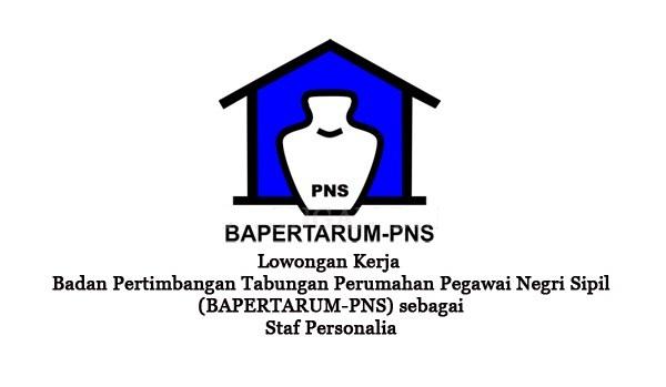 BAPERTARUM PNS : STAFF PERSONALIA - PNS, INDONESIA