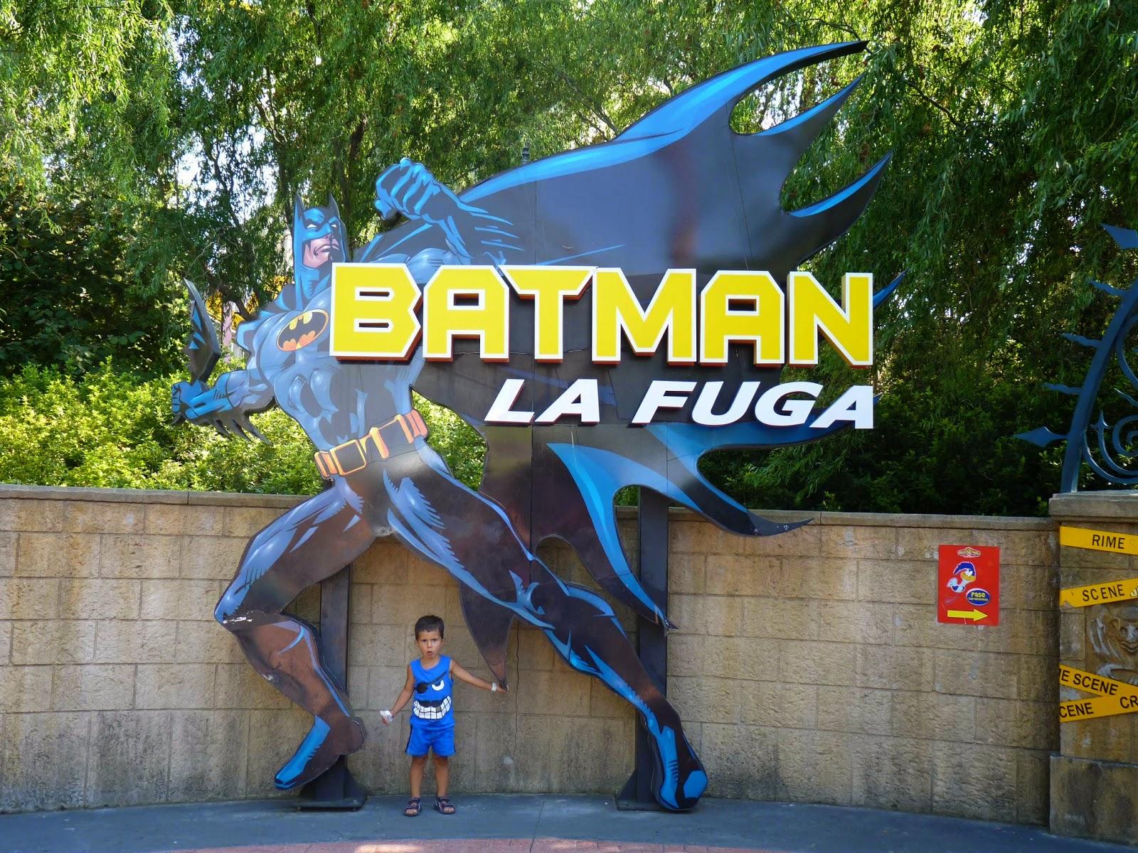 Batman, La Fuga.