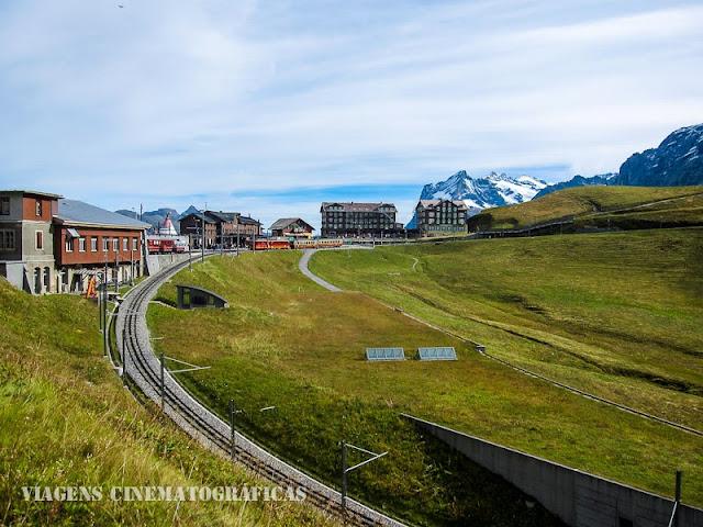 Estação de Kleine Scheidegg Suíça