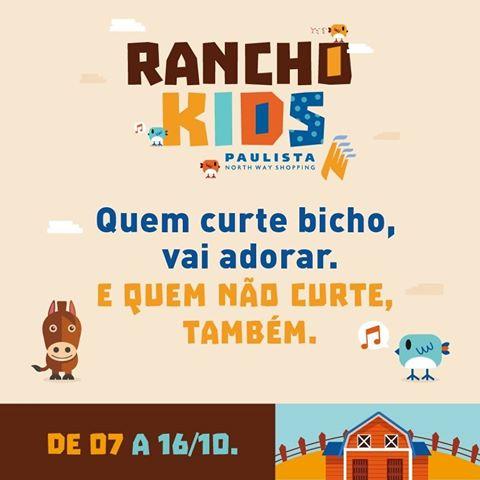 programação para criança no Paulista North Way Shopping
