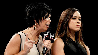 Vickie guerrero and Aj lee