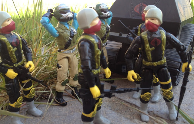 1989 Python Patrol Officer, Trooper, Steel Brigade, Mail Away, Hiss Tank
