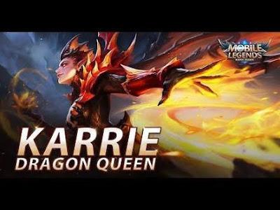 Script Karrie [Starlight] Dragon Queen Gratis - Mobile Legends