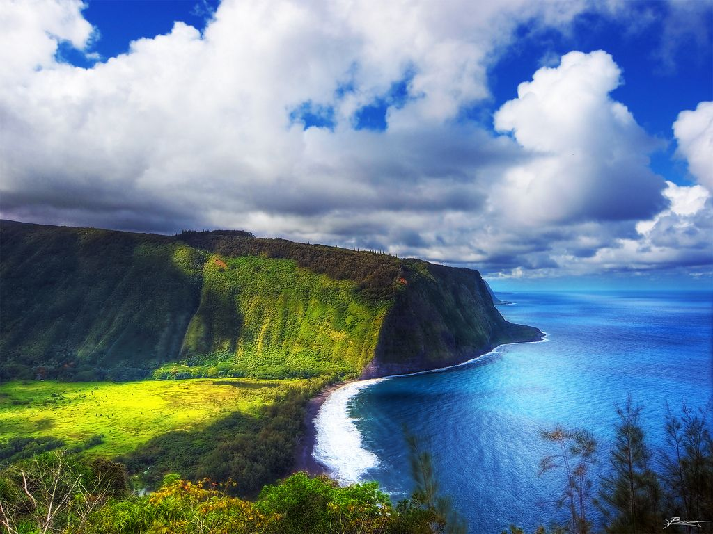 30. waipio valley by paul bica