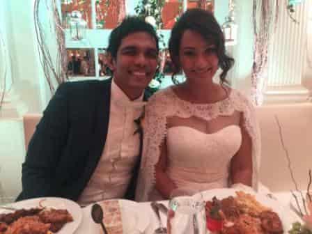 Abeynayake - wedding -  SC skipper Fazil Marija