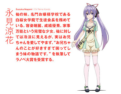 Reina Kondo como Suzuka Nagami.