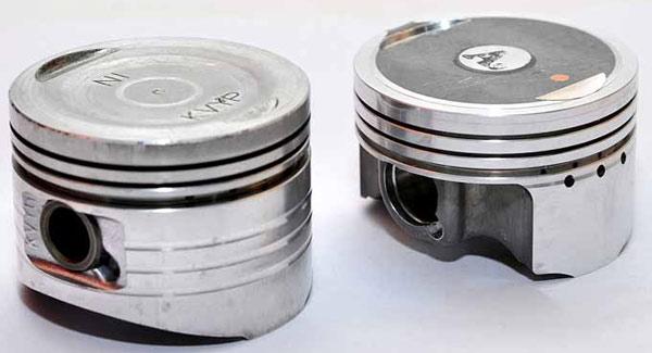 ukuran diameter seher / piston motor honda