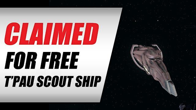 Star Trek Online 2019 • Claimed The Vulcan T'Pau Scout Ship T6 FREE!