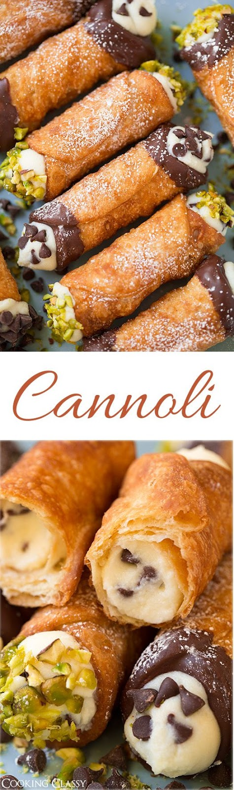 Cannoli (Shell and Filling Recipes)