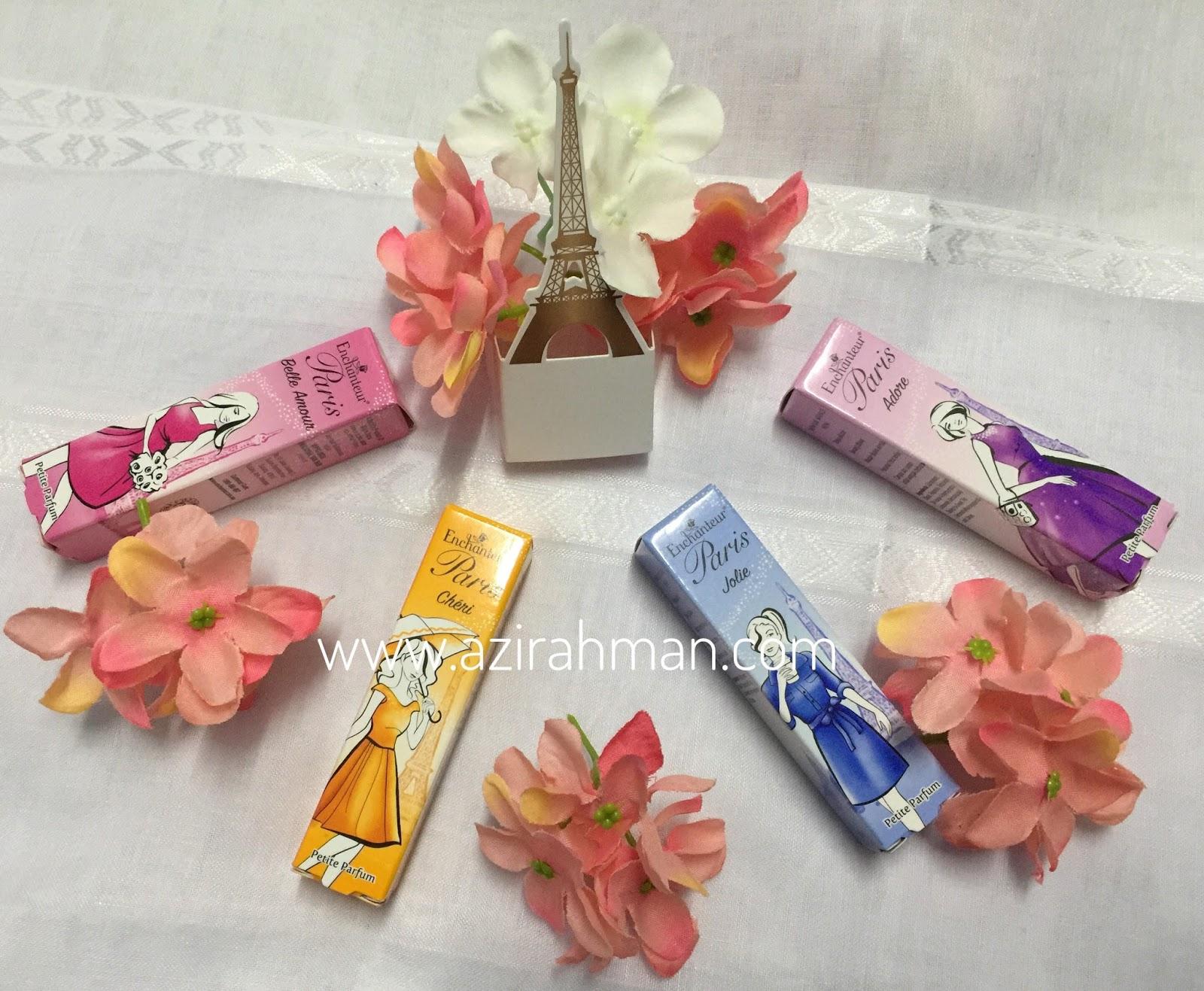 Enchanteur Paris, Enchanteur Paris Petite Parfum, produk wangian, khas untuk wanita, produk istimewa