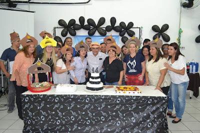 Escola da Família de Registro-SP comemora 14 anos com festa na Diretoria de Ensino